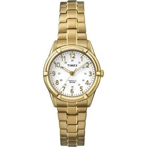 Timex TW2P89100 Indiglo Women's Gold Steel Band
